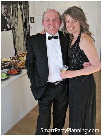 James Bond Theme Party