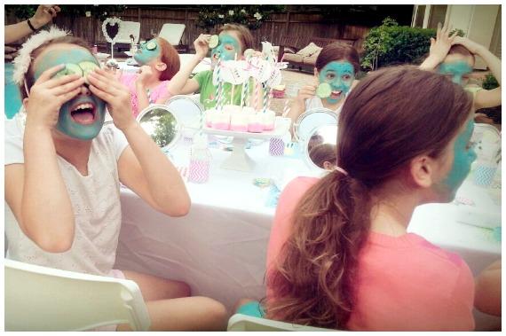 Spa Themed Birthday Party