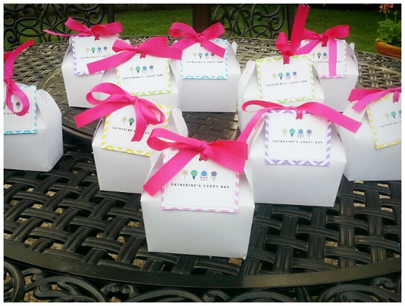 Spa Themed Birthday Party Favours