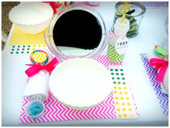 Spa Themed Birthday Party: Dylan's Candy Bar Inspired