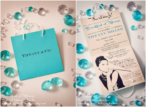 Tiffany Theme Invitation Card Design