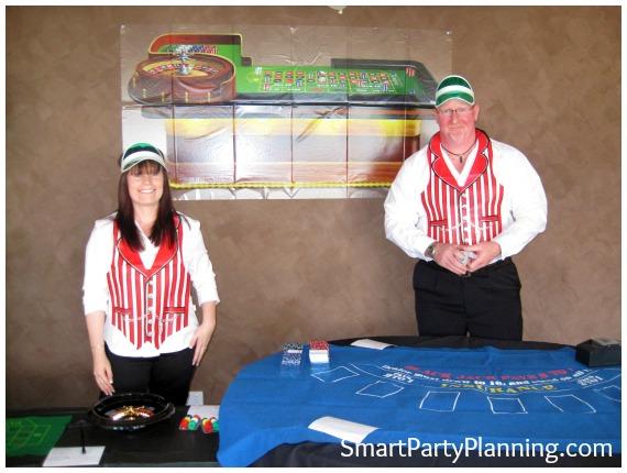 James Bond theme party games