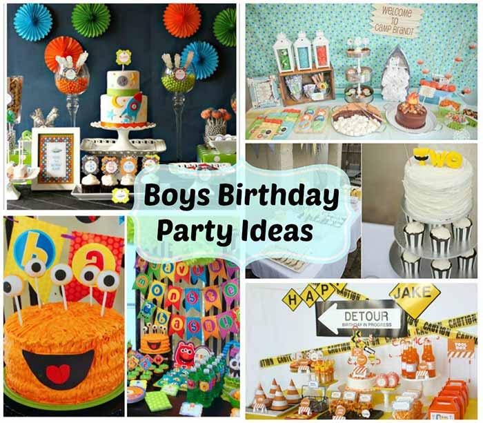 Boys Birthday Party Ideas