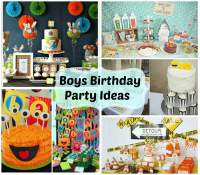 Boys Birthday Party Ideas - Weekly Roundup