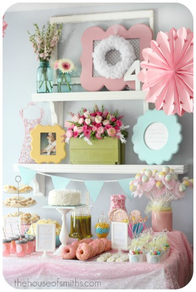 Girls Birthday Parties Fairy Ballerina