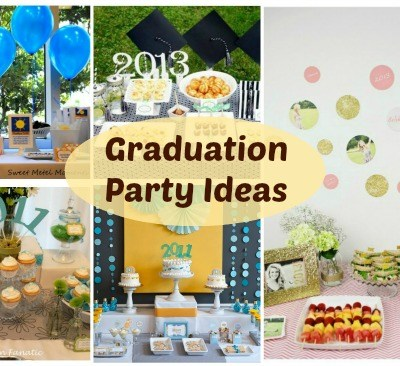 Graduation Party Ideas – Weekly Roundup