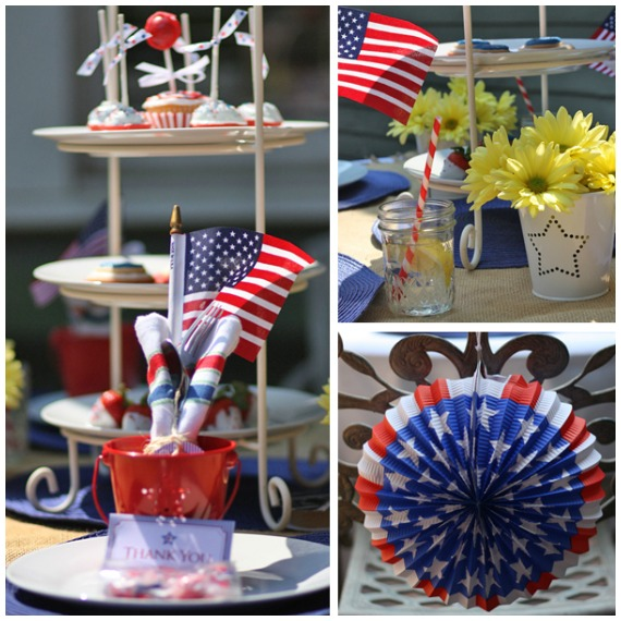 Budget Friendly 4th of July Party