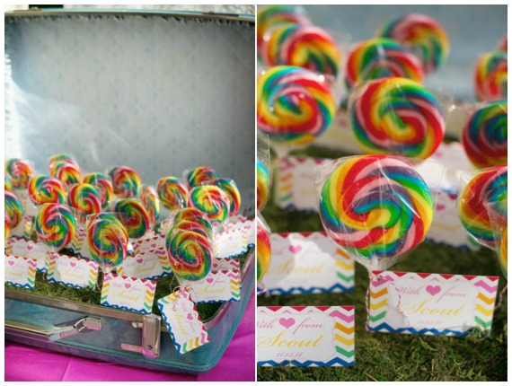 Rainbow Party Favors