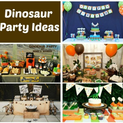 Dinosaur Party Ideas – Weekly Roundup