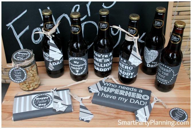Fathers Day Printables - Chalkboard range