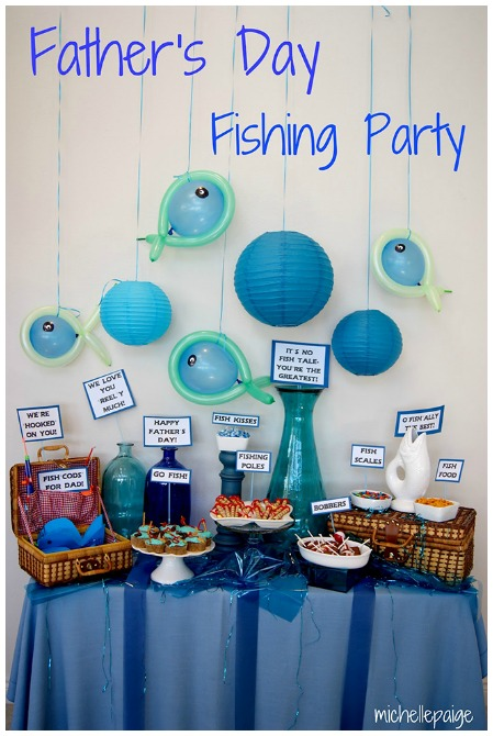 Fishing Fathers Day Party