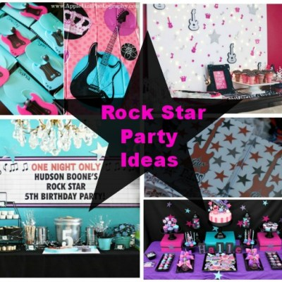 Rock Star Party Ideas