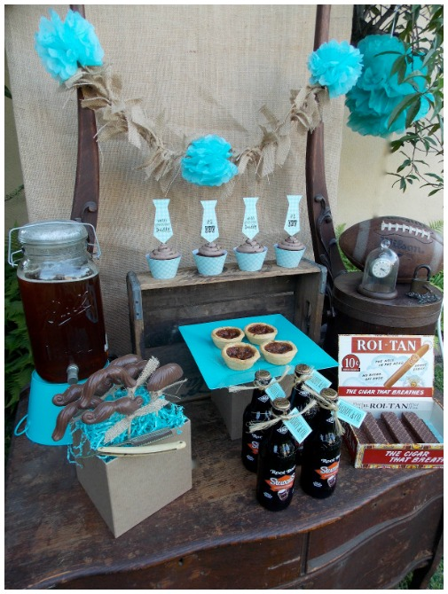 Rustic Fathers Day Party Ideas