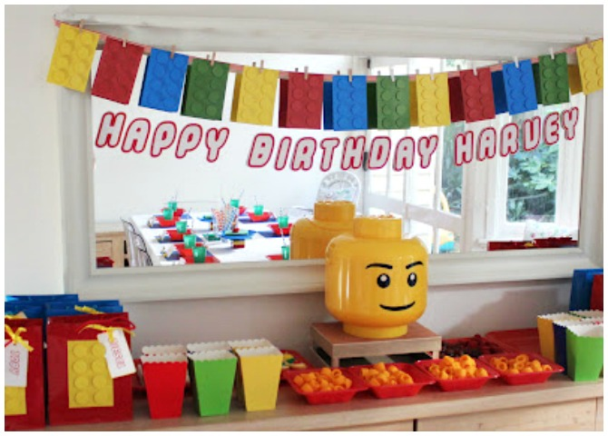 Fun lego party