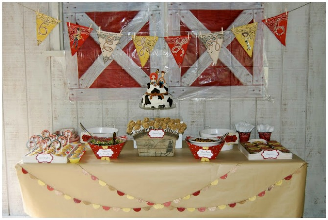 Cowgirl Birthday Party Ideas