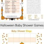 Halloween Printable Baby Shower Games