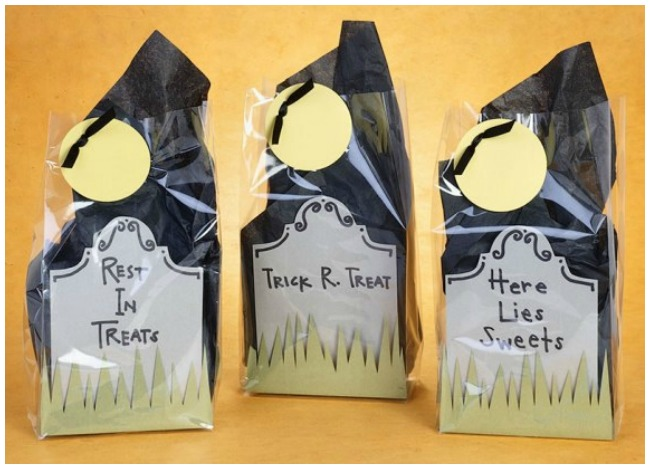 Cellophane trick or treat bags