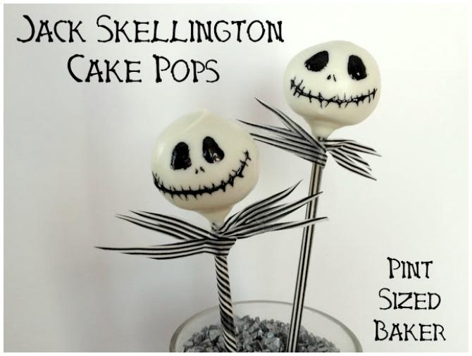 Jack Skellington Cake Pops
