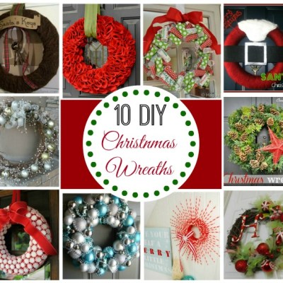 How To Easily Make Your Own Awesome Christmas Wreaths