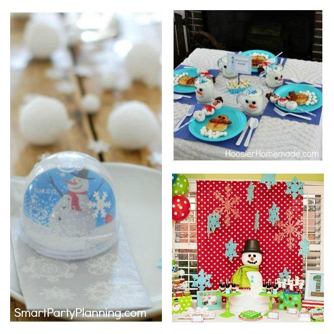 Easy Snowman Party Ideas