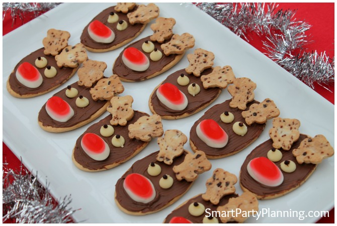Ruldolf the red nosed Reindeer Cookies