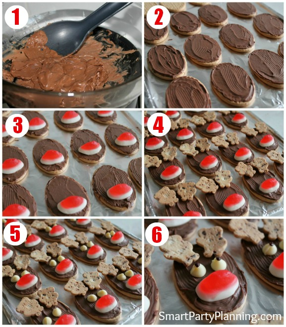 How to make reindeer cookies