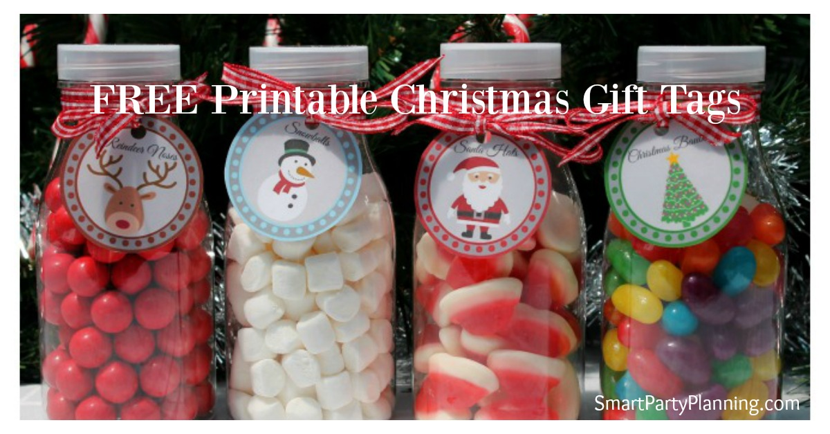 Printable Christmas Gift Tags FB