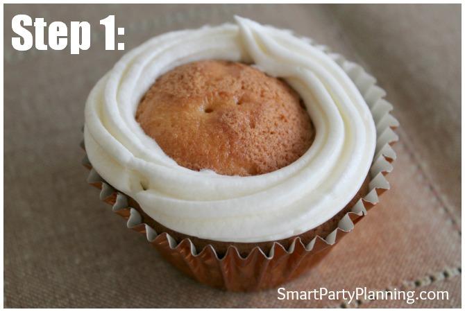 Cupcake swirl
