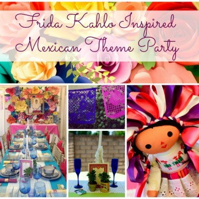Frida Kahlo Inspired Mexican Theme Party