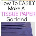 How to make a Tassle garland