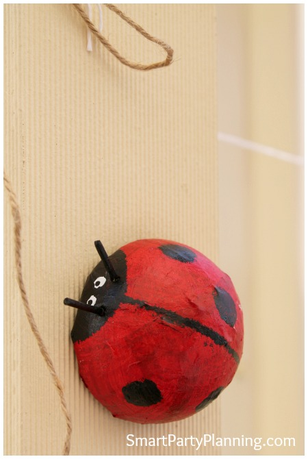 Ladybug party decoration
