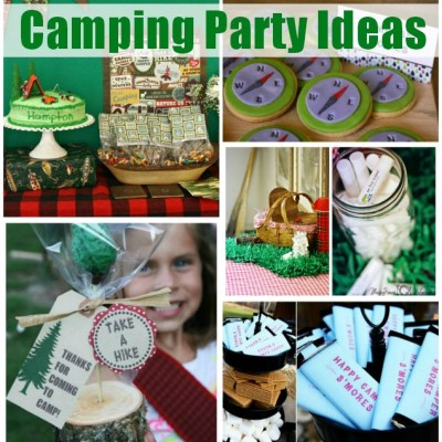 Camping Party Ideas