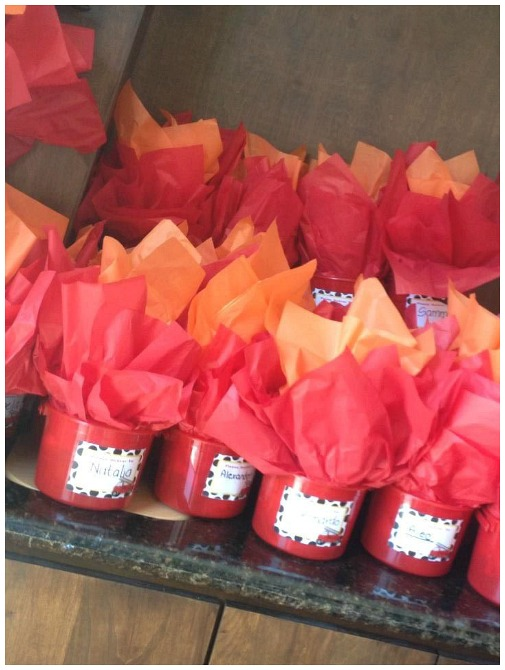 Fireman party favors