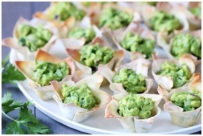 Guacomole cups