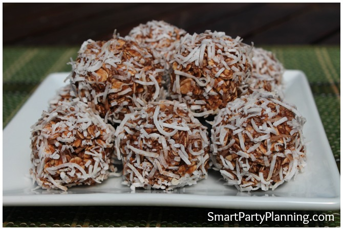 how to make chocolate balls without coconut