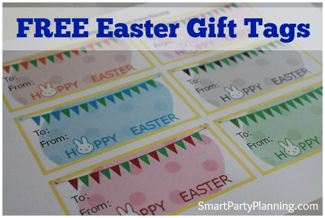 Free Easter Gift Tags