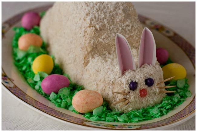 Gluten Free Easter Bunny Cake