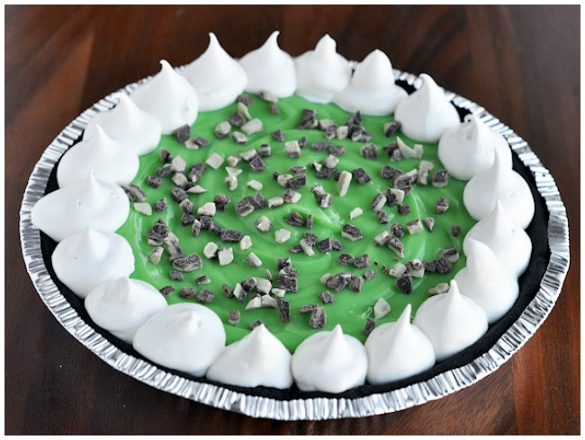 St Patrick's Day Desserts Green Grasshopper Pie
