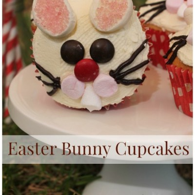 How To Make Simple and Fun Easter Bunny Cupcakes