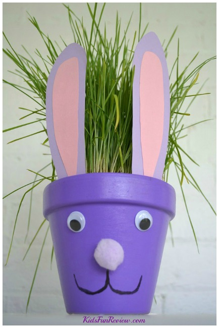 Easter-bunny-flower-pot-craft