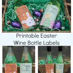 Printable Fun Easter Wine Bottle Labels