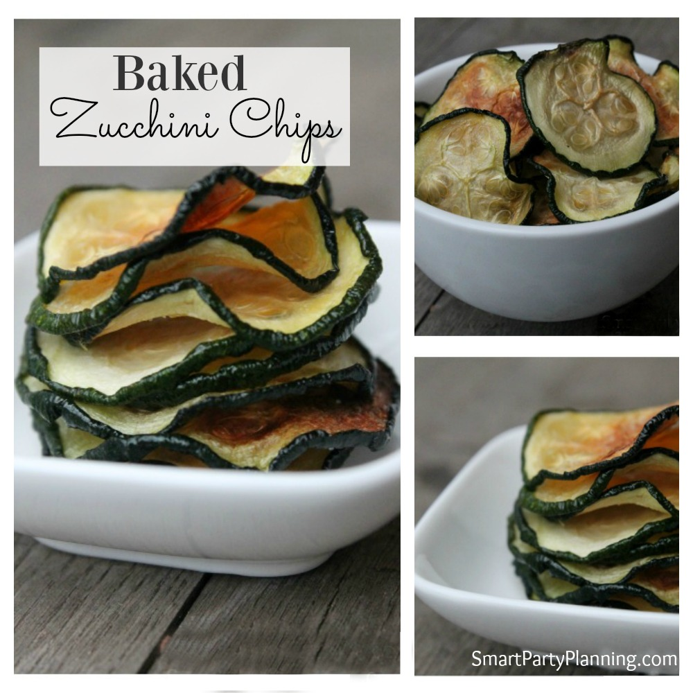 Baked Zucchini Chips Recipe