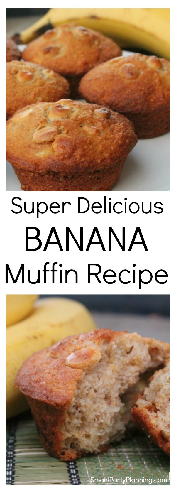 This quick and easy banana muffin recipe will be loved by the entire family. Whether you eat them as an afternoon snack or get away with eating them for breakfast, they will be a sure hit.