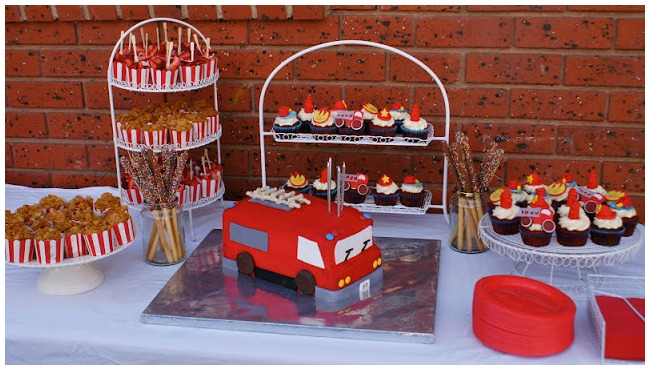 Fireman Party Ideas Desserts