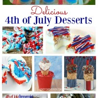 This selection of 4th of July desserts are easy to make and will be perfect for your 4th of July celebrations. These dessert recipes can be prepared in advance ensuring you enjoy the day with your friends and family. I think there would need to be a bucket load made of #7 though!