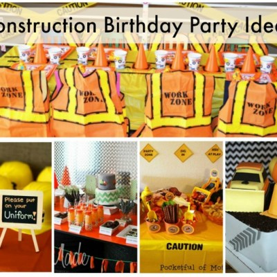 Cool Construction Birthday Party Ideas