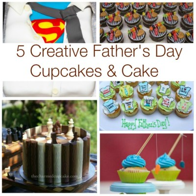 Father's Day Cupcakes & Cake
