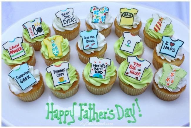 Shirt Cupcakes