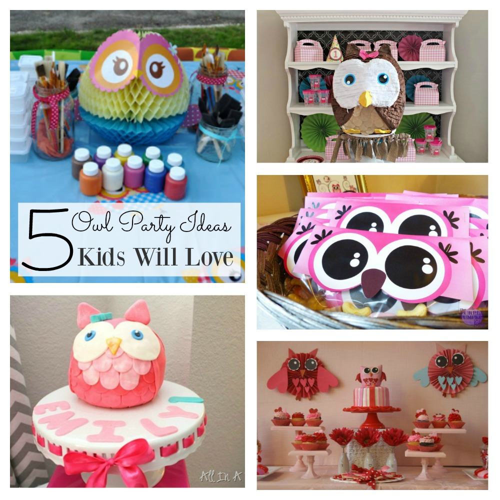 Owl Party Ideas