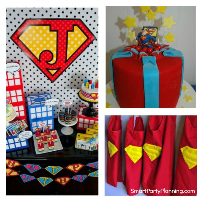 Easy Superman Party Ideas